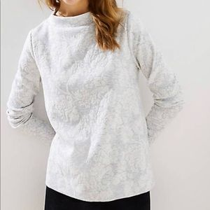 LOFT Jacquard Sweater/Sweatshirt
